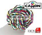 Camon TARTÓS fogtisztító kötéllabda játék  10cm (A961/C)