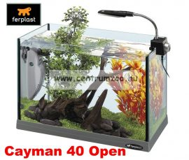 Ferplast Marex Cayman 40 Open komplett prémium akvárium 21liter -AKCIÓ-