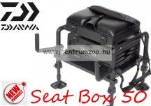 Daiwa ®  50 Seat box finomszerelékes prémium horgászláda (15811-550)