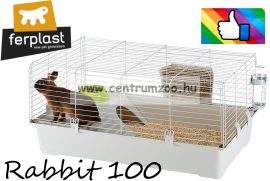 Ferplast Rabbit 100 felszerelt nyúl ketrec New Full (57052370)