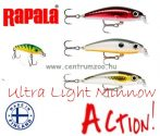 Rapala ULM04 ULTRA LIGHT MINNOW Rapala wobbler