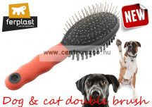 Ferplast Professional Dupla Kefe  5926-es kutyáknak, macskáknak