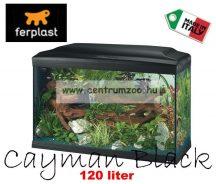 Ferplast Cayman 80 Black komplett  akvárium 120 liter