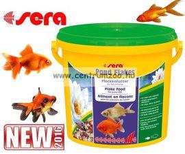 Sera Bioflakes Pond Flakes lemezes tavi haltáp 10 liter (7090)