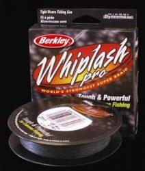 Berkley Whiplash Green Pro NEW 110méter 0,06mm zöld 10,6kg fonott