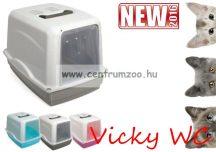GP Vicky szénfilteres cica WC 54*39*39cm ajtóval (GP10582)