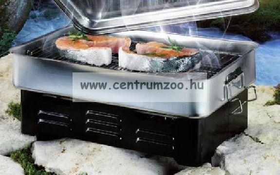 Ron Thompson Smoke Oven Deluxe Large Professional asztali halfüstölő (31512) (MASSZÍV VÁLTOZAT)