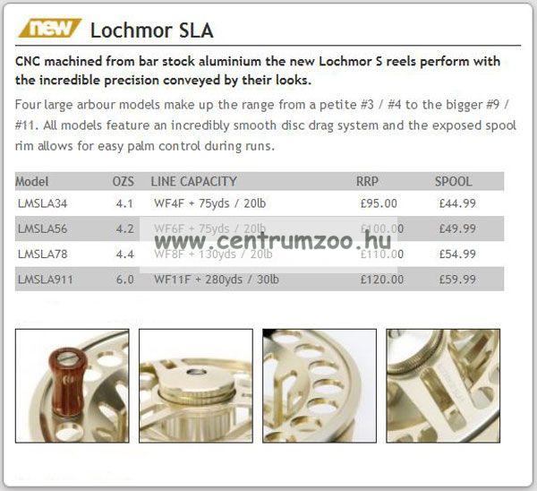 Daiwa Lochmor SLA 7/8 prémium legyező orsó (LMSLA78)(191390)