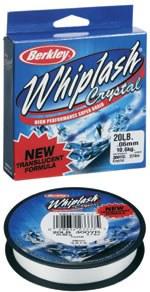 Berkley Whiplash Crystal Pro NEW 110méter 0,20mm áttetsző 26,4kg fonott