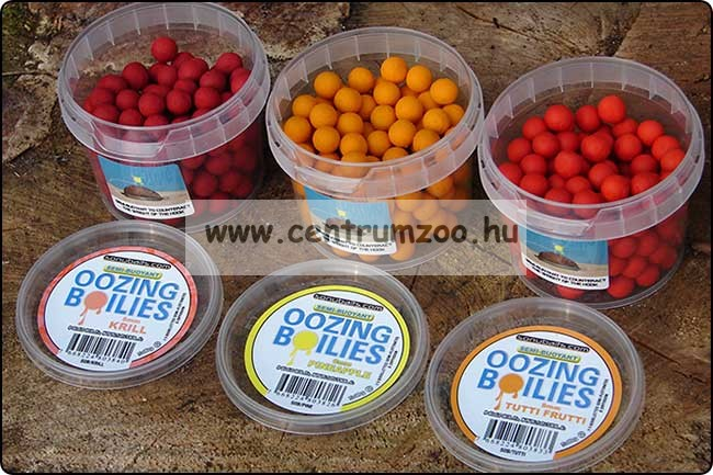Sonubaits Oozing Semi-Buoyant 8mm pop-up Krill - rák ízű vérző bojli (SOB/KRIL)