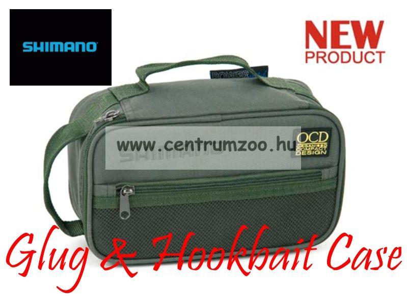 SHIMANO Glug & Hookbait Case 27x13x11cm dipes táska (SHOL17)