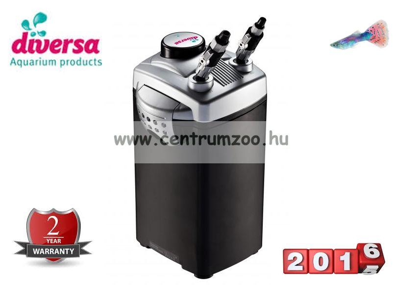 Diversa EXUS 1200 prémium külső szűrő 28W 500literig