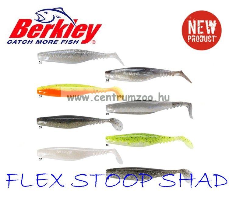 Berkley Flex Stoop Shad gumihal GREEN BACK 7,5cm (1345796)