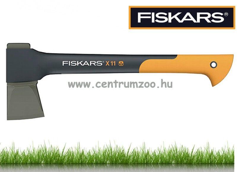 """Fiskars X11 """"S"""" éles kempingfejsze tokkal (122443)"""