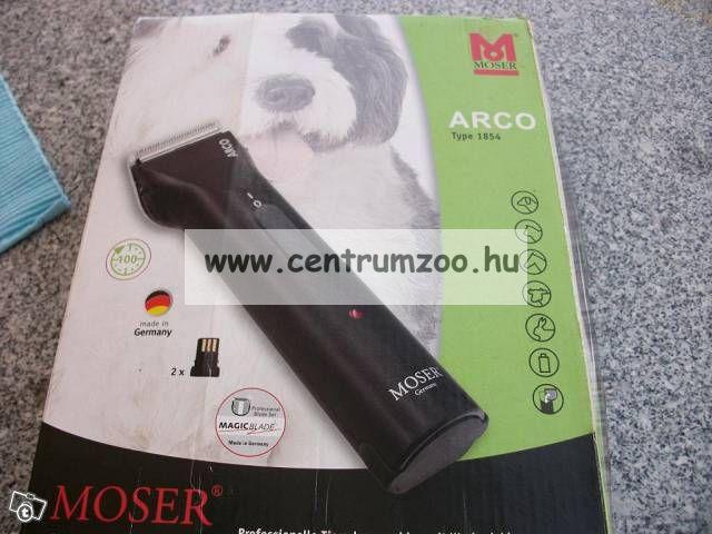 Moser Arco Premium akkus kutya, kisállat nyírógép (1854-0081)