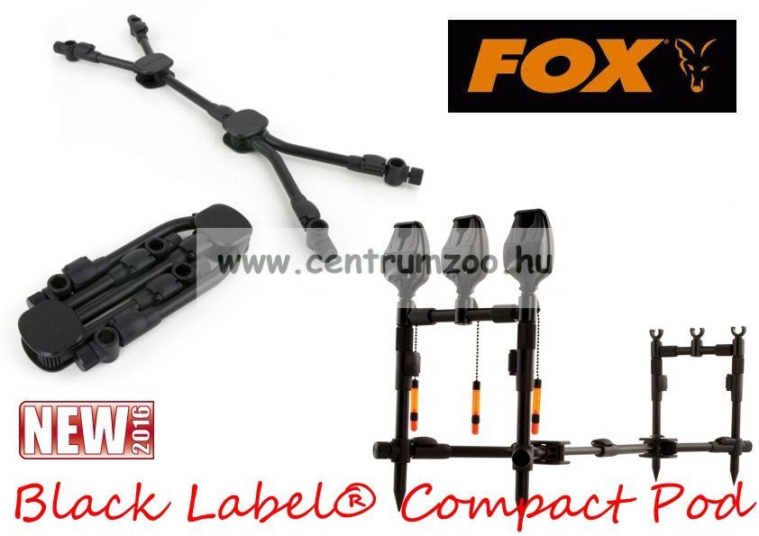 Fox Black Label® Compact Pod  masszív bottartó állvány (CRP034)