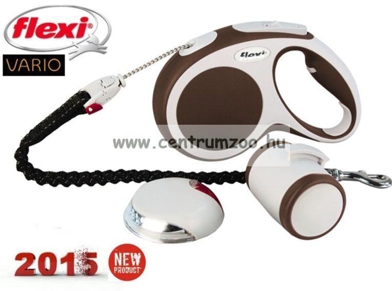 Flexi Vario Set 2015NEW   komplett automata póráz + lámpa + alomzacsi tartó - AKCIÓ