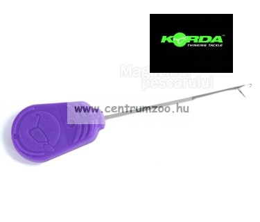 KORDA fűzőtű Fine Latch Needle Purple 7cm (KBNF)