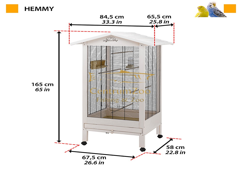 Ferplast Hemmy Tree Friend fa madár röpde