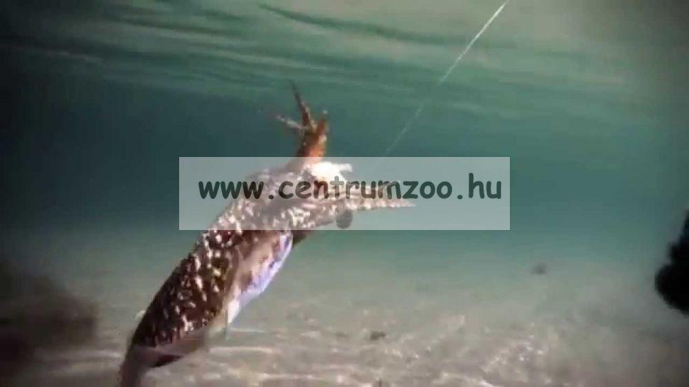 Lineaeffe Super Attractive Metal Squid Jig COLAB-5 tengeri műcsali 9,0cm (5079653) -ZÖLD-PINK CSÍKOS