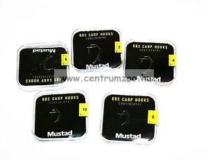 Mustad BBS-60552NP-TX  TitanX BBS Continental 4,8 Micro Barb bojlis horog (NLMU10013 4 5)