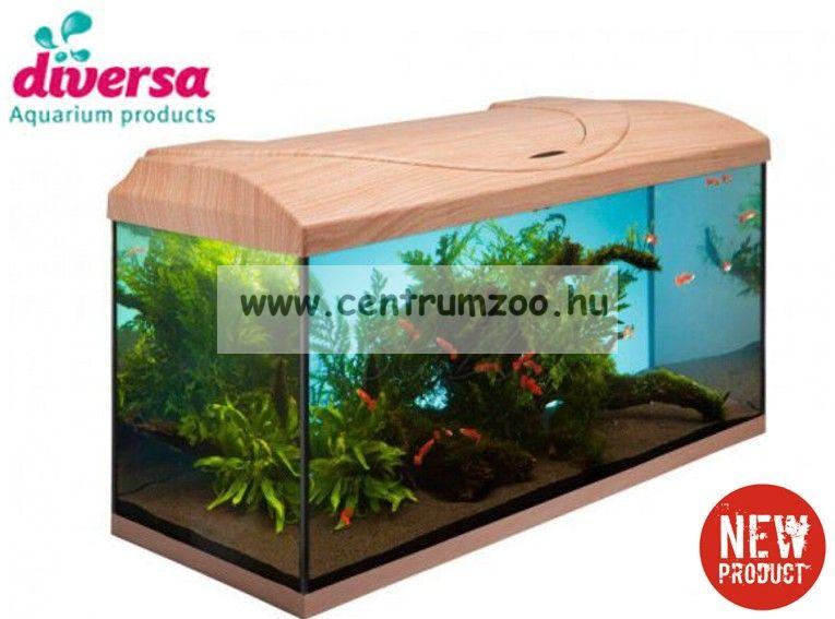 Diversa akváriumtető és világítás  80*35cm 2*18W BÜKK színben