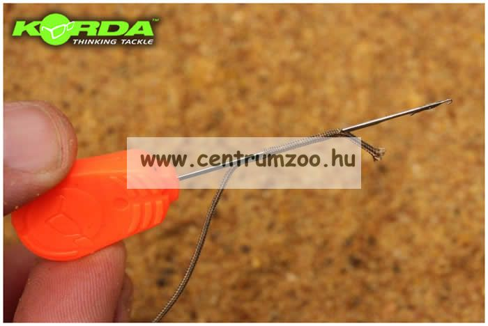 KORDA fűzőtű Splicing Needle Orange 7cm (KSPN)
