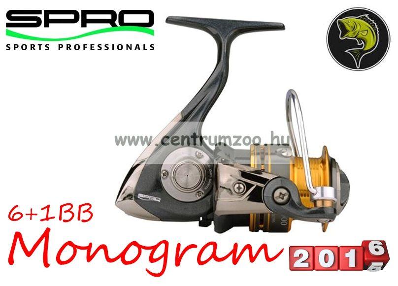 Spro Monogram 740 FD 6+1cs (1054-740) elsőfékes orsó