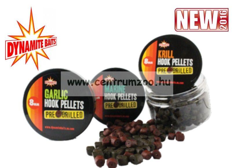 Dynamite Baits pellet Garlic Hook Pellets - 8mm (fúrt) DY961