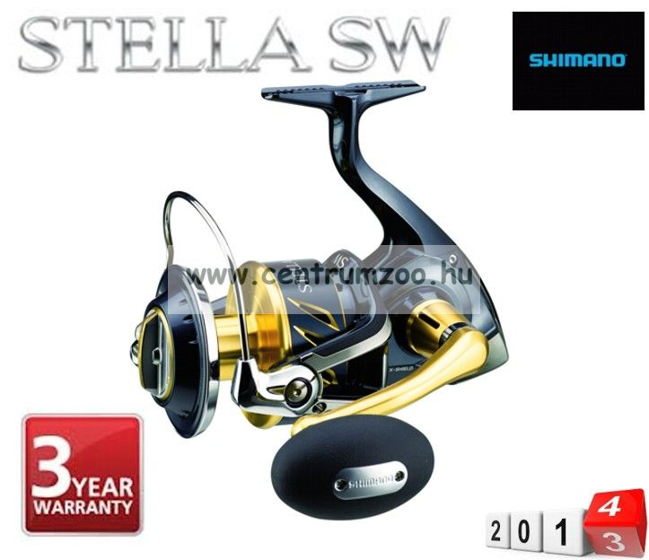 Shimano orsó STELLA SALTWATER 8000 SWBPG (4,9:1) (STL8000SWBPG )