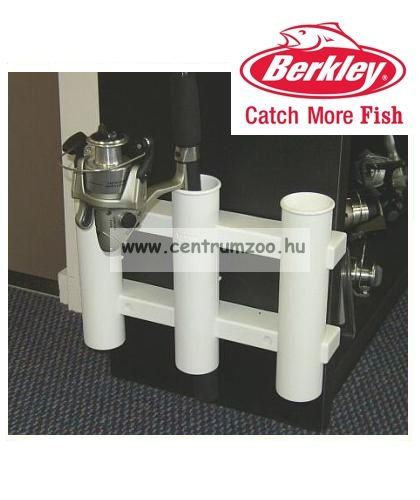 Berkley TR1W Tube Rod Rack White 3-as bottartó felszerelt botoknak (1011092)