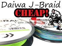 DAIWA J-BRAID FONOTT ZSINÓR MULTICOLOR 8 BRAID 300m 0,13mm fonott zsinór (12755-113)