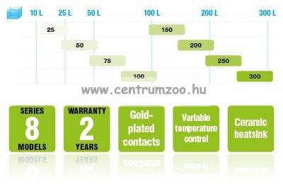 Aquael Gold Heating automata hőfokszabályzós vízmelegítő  200W (   )
