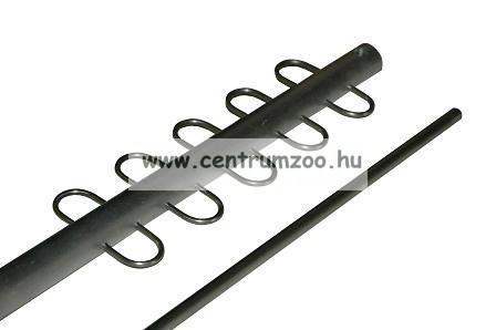 ICC ALU haltartó rúd (letekerhető verzió) 100cm, 10db akasztóval (ICC101511)