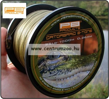 PB Products Gator Braid 0.30mm 1000m fonott zsinór (GAT30)