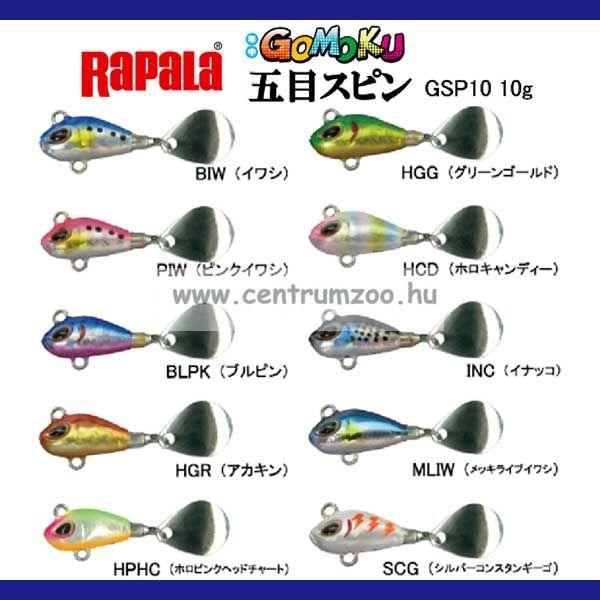 Storm Gomoku Spin 5cm/10g Storm wobbler (GSP10)