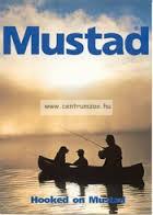 "Mustad 8"" Soft Grip Plier with Rubber Holster horgász fogó (MT010)"