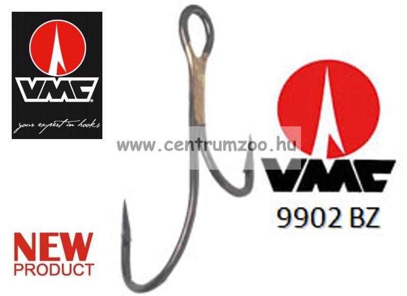 VMC 9908 Limerick  nyitott kettes v kétágú horog 10db/cs