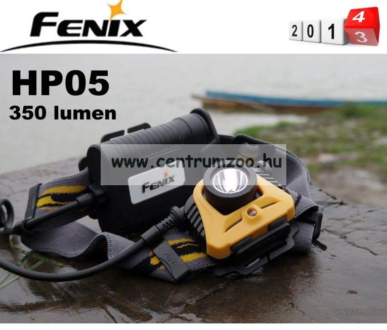 FENIX HP05 R5 FEJLÁMPA (350 LUMEN) vízálló - ERŐS FÉNY