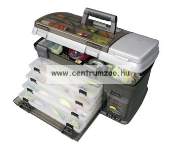 Plano Guide-Series Professional System  4 dobozos láda szürke 51x26x30 cm  (7771-01)