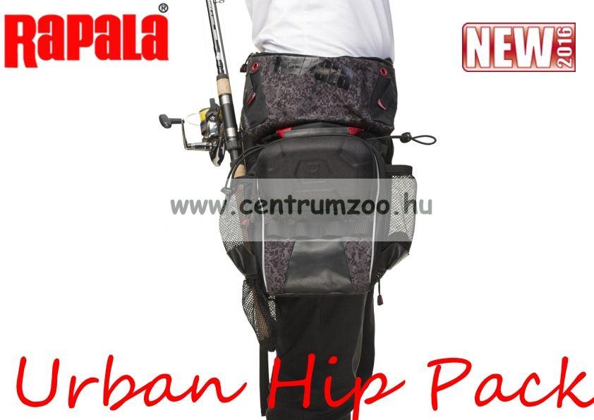 Rapala mellény Urban Hip Pack pergető combtáska (RUHP)