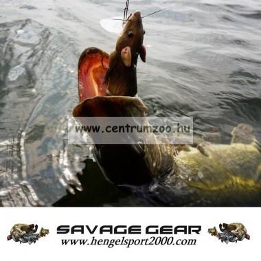 Savage Gear 3D Rad Rat mű úszó patkány csukára, harcsára 20cm 32g (Black color)