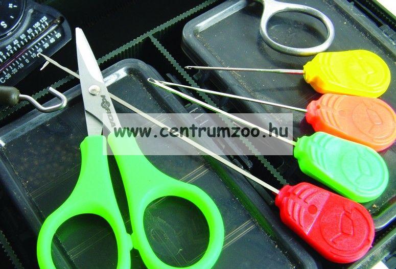 KORDA fűzőtű Braided Hair Needle Yellow 7cm  (KBNB)