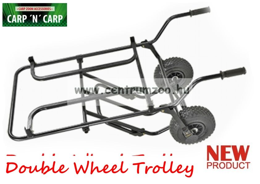 Carp'N'Carp Double Wheel Trolley bojlis, versenyládás Duplakerekes talicska (CZ0184)
