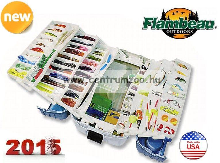 FLAMBEAU 6 tálcás prémium láda 50x30x27cm 2059 modell (69-10007)