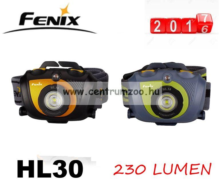 FENIX HL30 FEJLÁMPA (230 LUMEN) vízálló