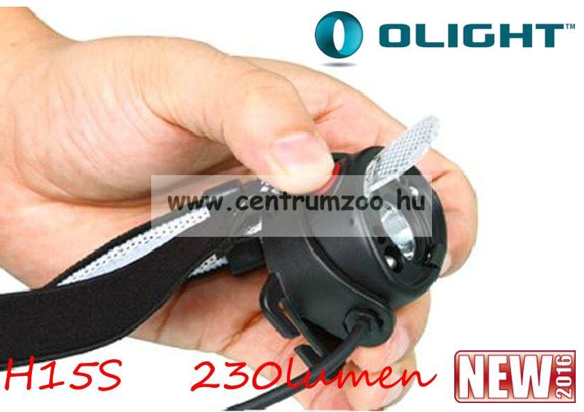 Olight H15S Wave tölthető fejlámpa 250 lumen (OLIH15S)