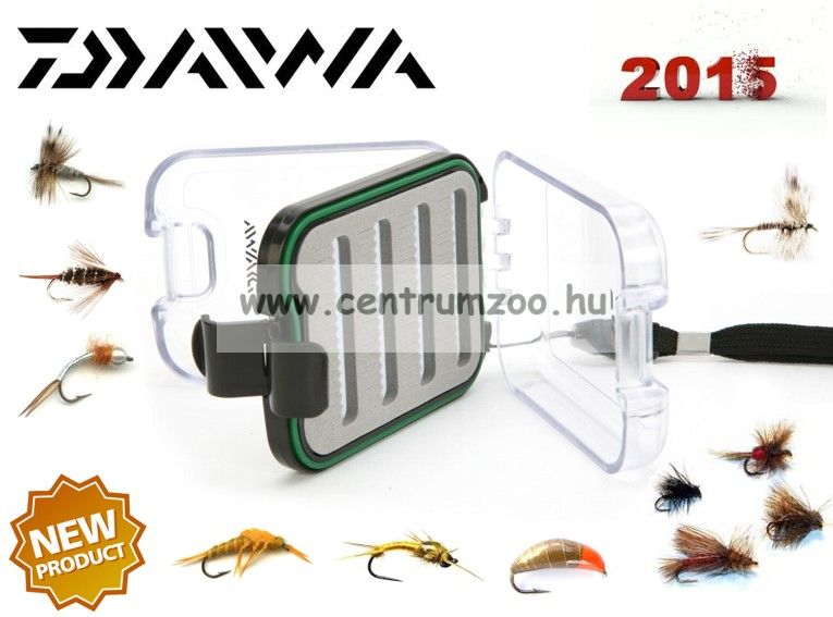 Diawa Inview Medium Fly Box legyes doboz  (197967)(DIVFB1)