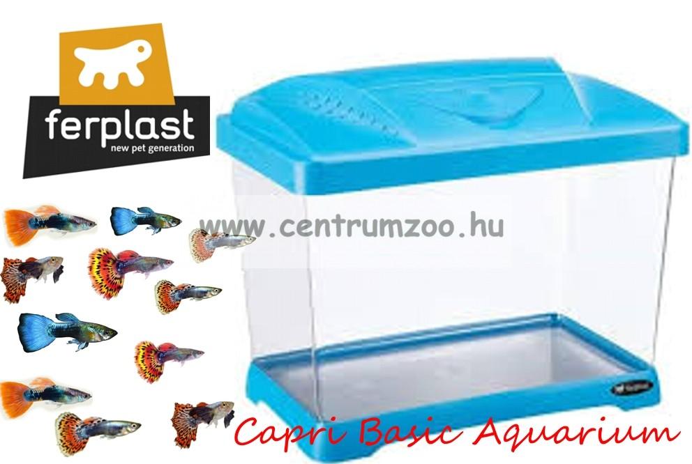 Ferplast Capri Basic Blue 21 literes KÉK akvárium, terrárium