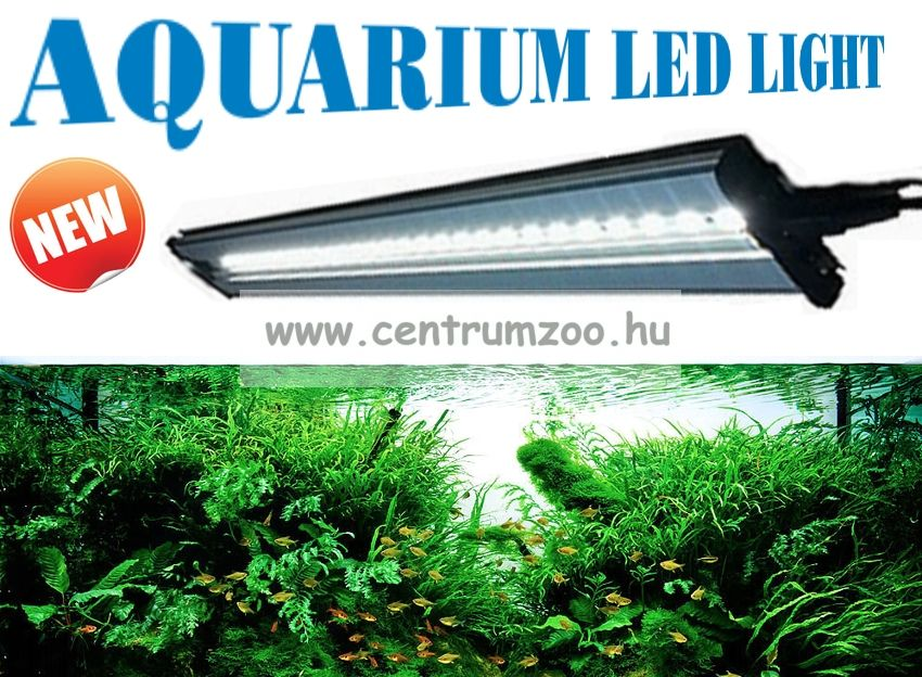 Aquarium LED MAXI LIGHT akvárium világítás 31cm
